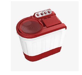 WHIRLPOOL WM SA ACE SUP SOAK 7.5KG CORAL RED 5YR