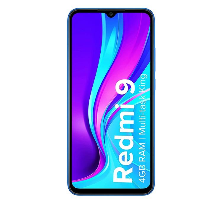 XIAOMI MOBILE PHONE REDMI 9 - 4 - 64GB SKY BLUE