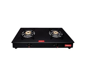 IMPEX GAS STOVE GLASS TOP IGS 1212M