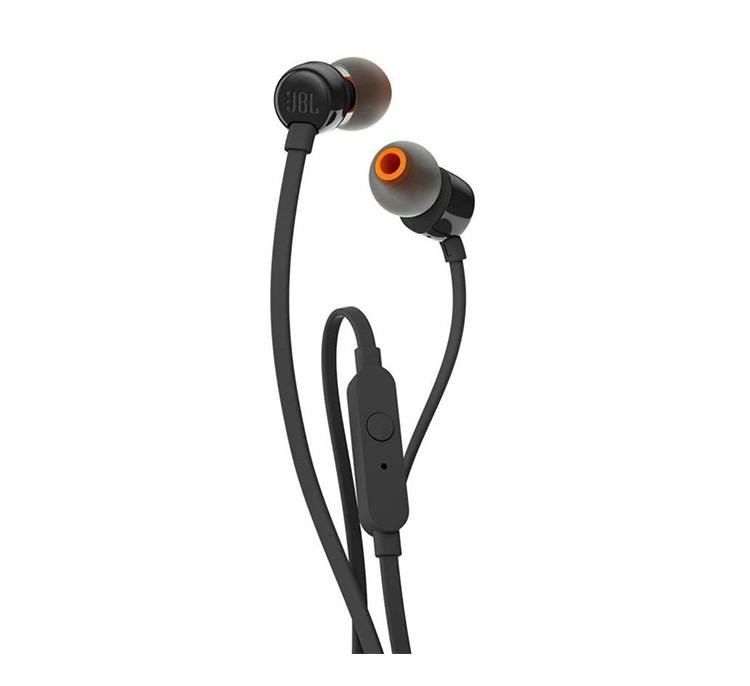 AB - JBL EARPHONE WIRED T110 BLACK