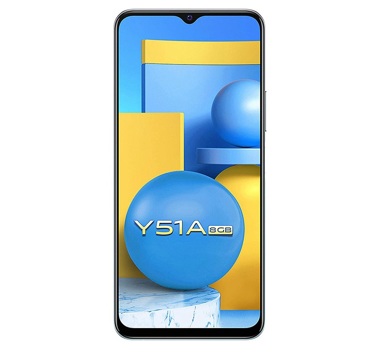 VIVO SMART PHONE Y51A - 8 - 128GB CRYSTAL SYMPHONY