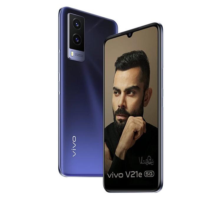 VIVO SMART PHONE V21E - 8 - 128GB DARK PEARL