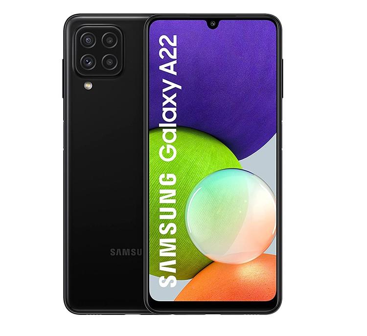 SAMSUNG SMART PHONE GALAXY A22 - 6 - 128GB BLACK
