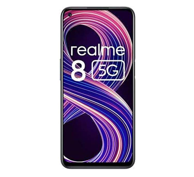 REALME MOBILE PHONE 8 5G - 4 - 64GB SUPERSONIC BLACK