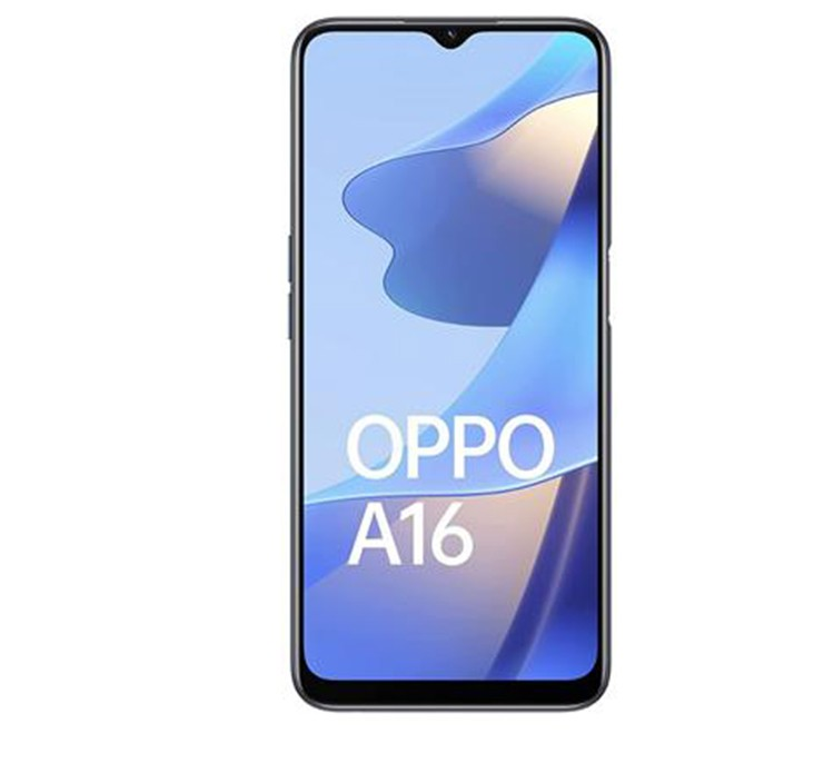 OPPO SMART PHONE A16 - 4 - 64GB CRYSTAL BLACK