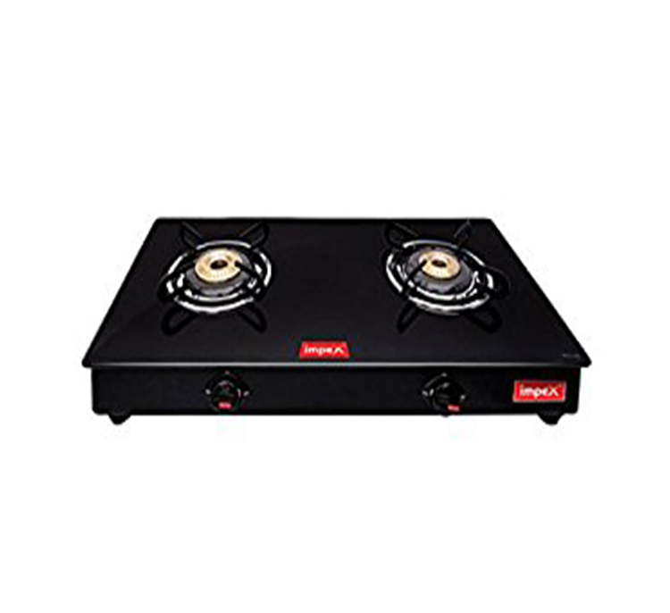 IMPEX GAS STOVE GLASS TOP IGS 1212B